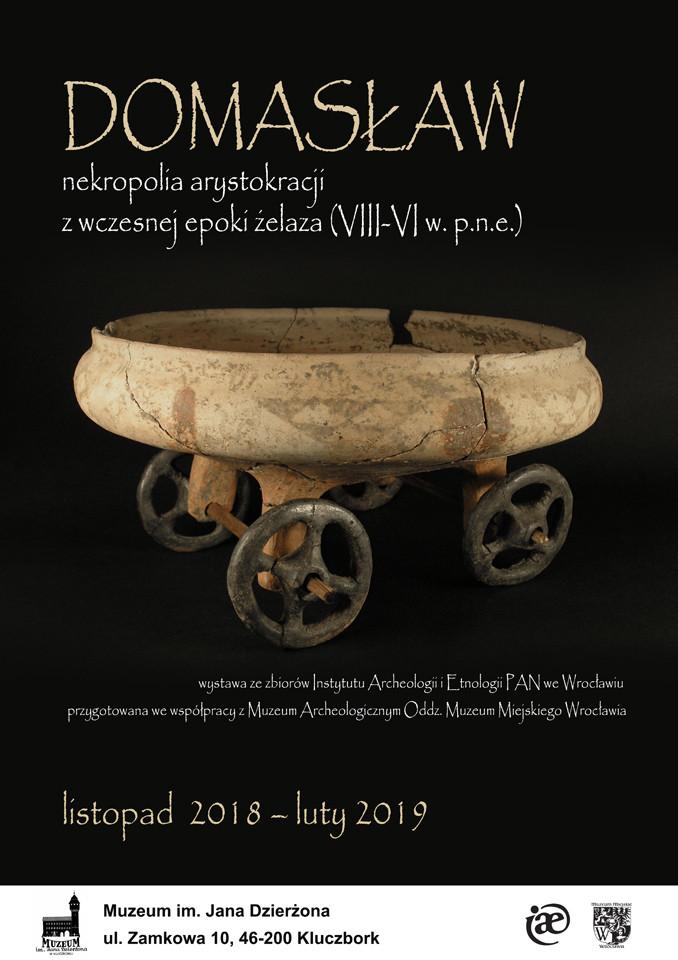 0abe5c8034a9f Domasław – nekropolia arystokracji z wczesnej epoki żelaza (VIII-VI w.  p.n.e.) - plakat