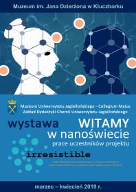 f44cfd18792f9 Witamy w nanoświecie - plakat wystawy